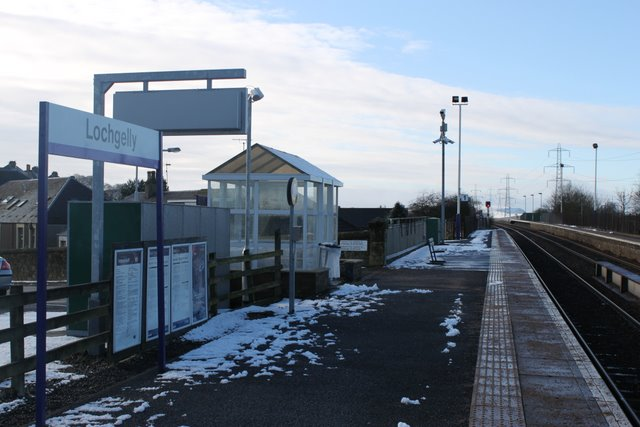 Lochgelly railway station