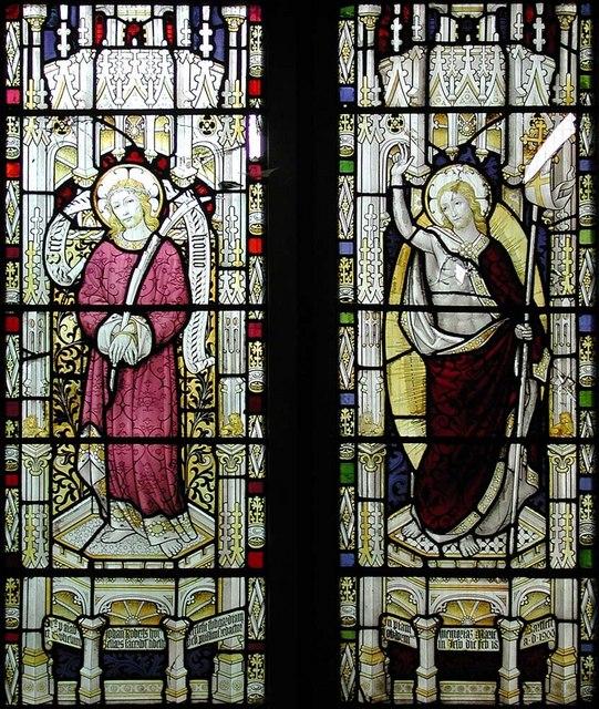 St Benet & All Saints, Kentish Town - Window