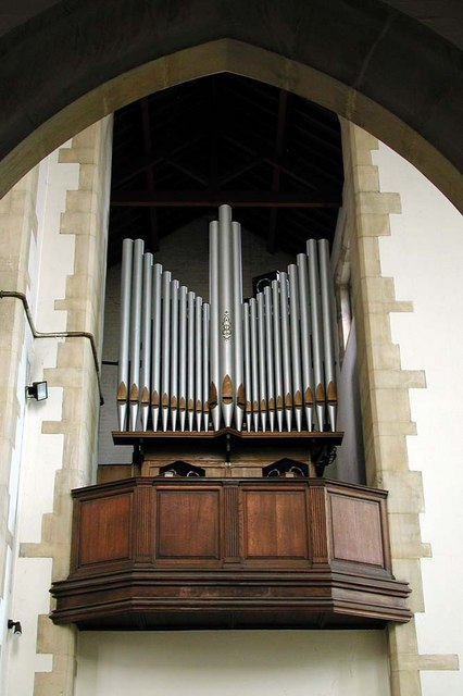 St Benet & All Saints, Kentish Town - Organ loft