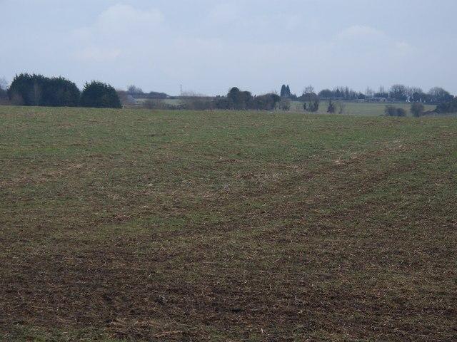 Oxfordshire farmland