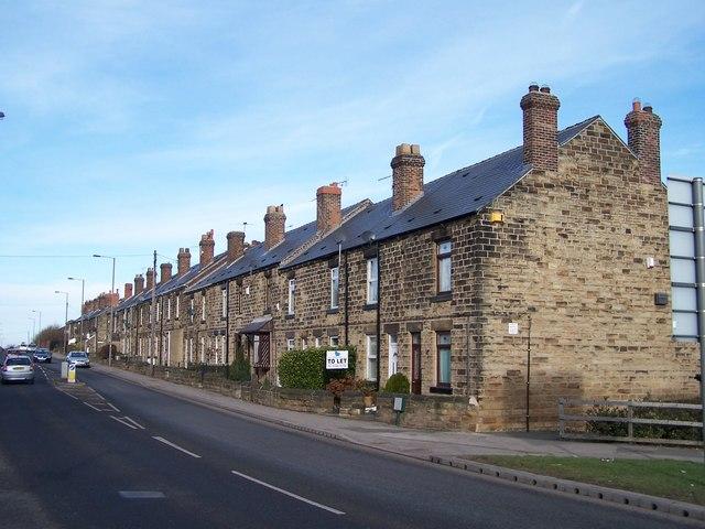 Terraced Houses, Sheffield Road, Tankersley
