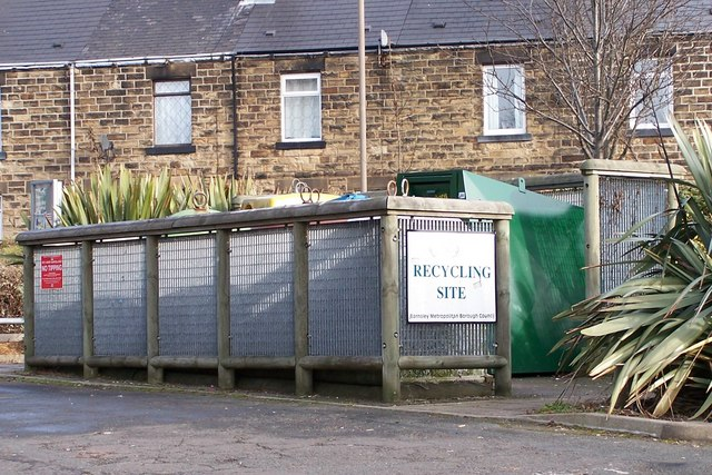 Recycling at Tankersley