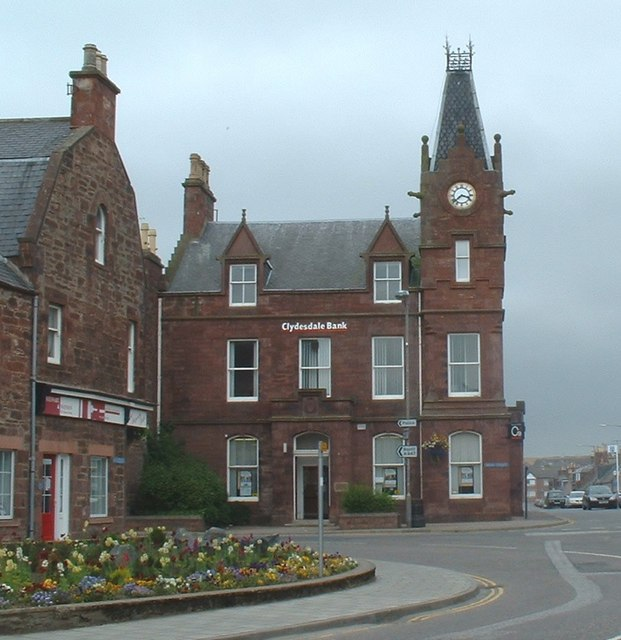 Clydesdale Bank Building, Turriff