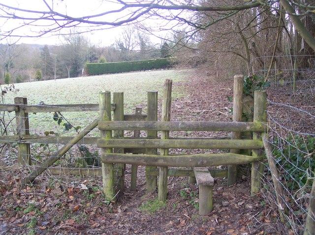 Stile near Scriventon