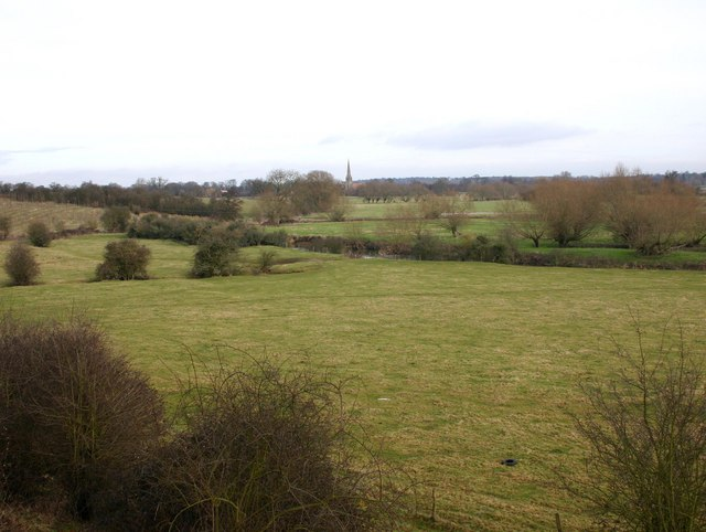 Fields by the River Avon