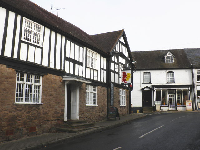 The Red Lion, Weobley