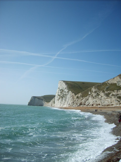 Cliffs near Durdle Door