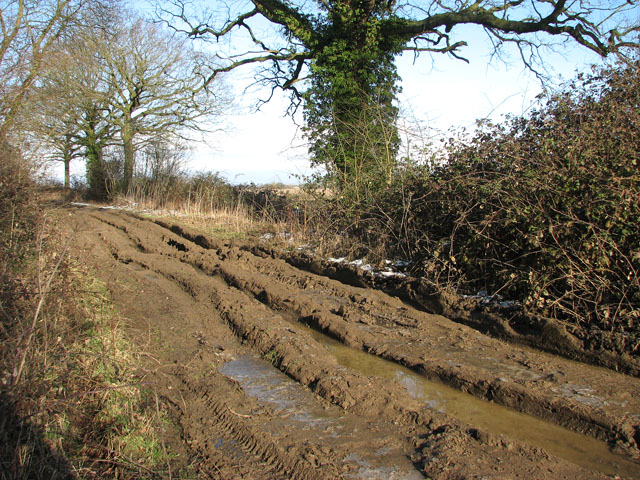 Sticky mud on Hobb's Lane