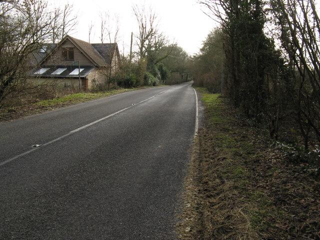 Harbolets Lane, the B 2133,  running SE towards Ashington