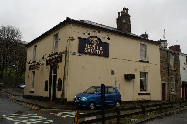 The Hand & Shuttle, on the junction of Eccleshill Street and Darwen Street