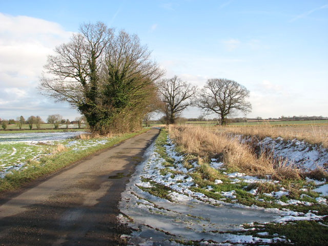 View south-east along Swargate Lane