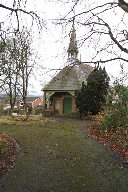 Disused Cemetery Chapel on Waddington Road