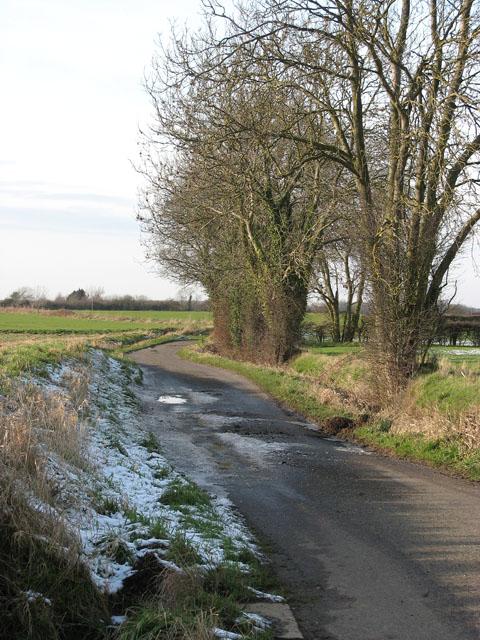 Snow on Swargate Lane