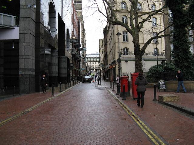 London:  Villiers Street