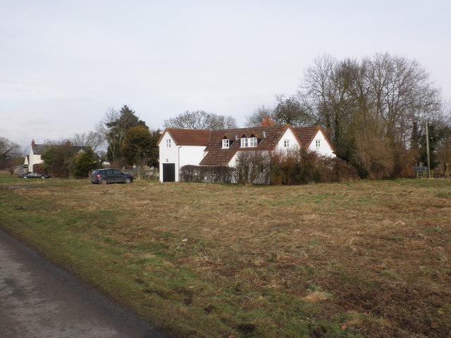 Cottage, on Weobley Marsh