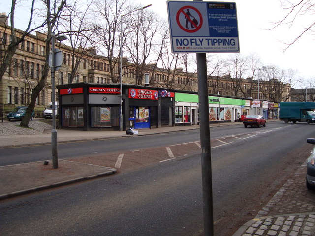 Shops, Paisley Road West