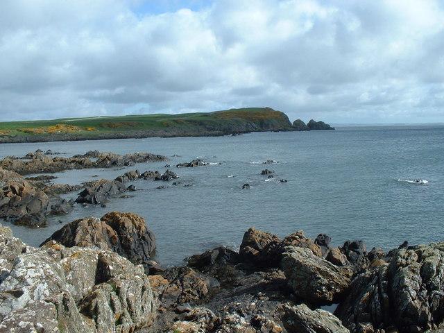 Rocky Shoreline, near Isle of Whithorn