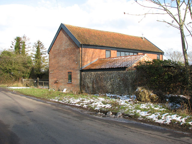 Barn conversion in Upgate Road