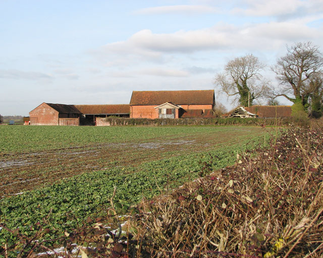 Old barns and byres by Home Farm