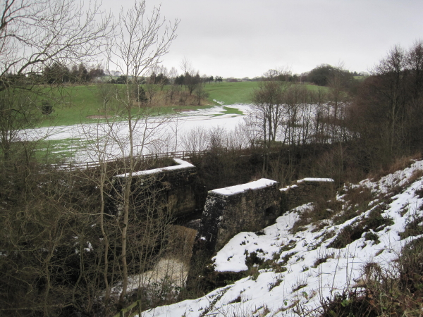 Old Dam for the Iron Works.