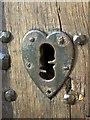 SU2489 : Escutcheon, St Andrew's Church : Week 5