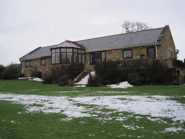 Bungalow near the River North Tyne