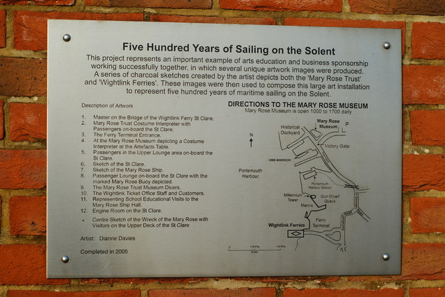 Five Hundred Years of Sailing on the Solent