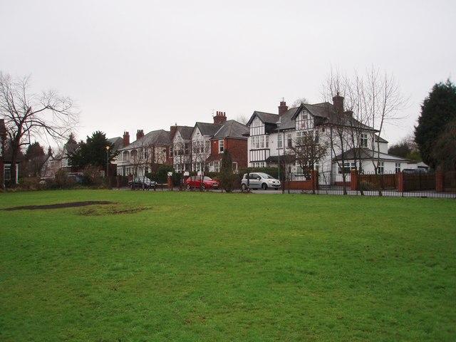 Park area near Marton Avenue