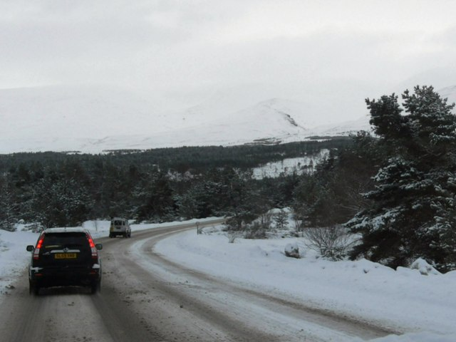 The Ski Road through Glen More