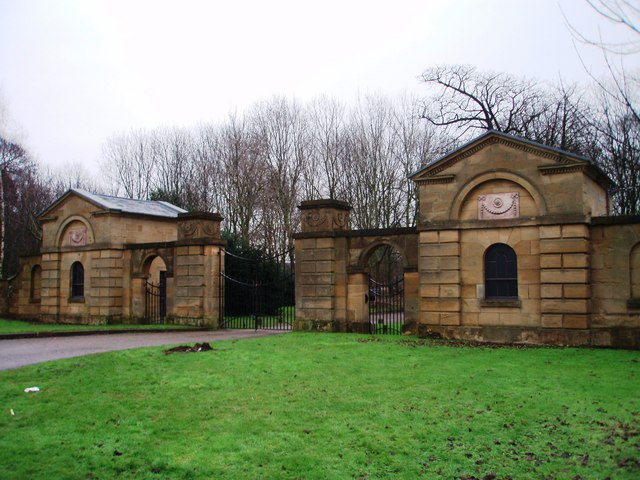 Entrance to Ormesby Hall