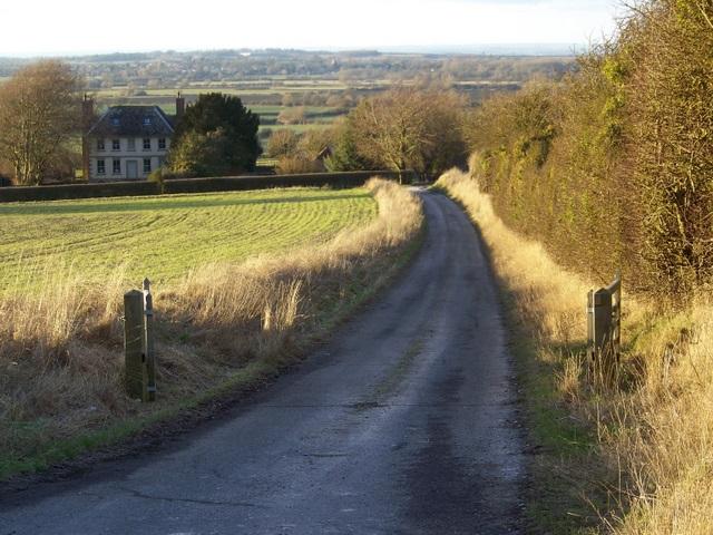 Drive to Odstone Farm