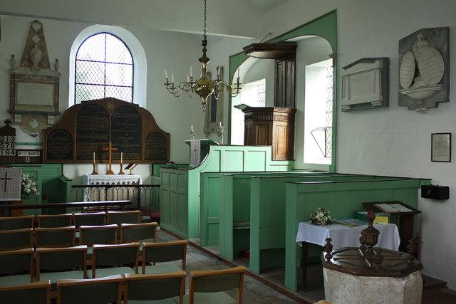 Didmarton St Lawrence Church Interior