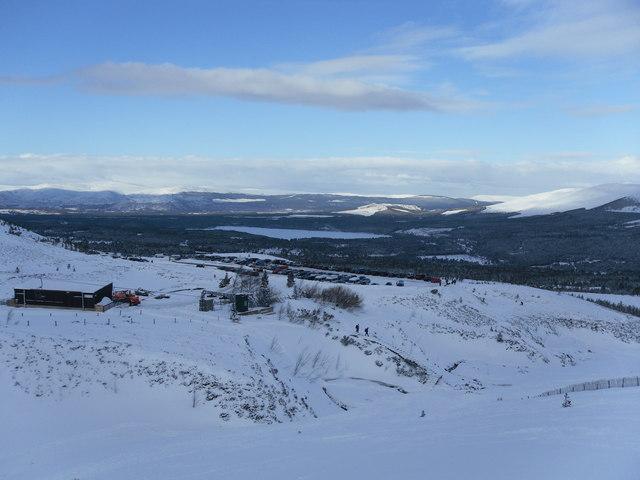 The Coire na Ciste Ski Centre