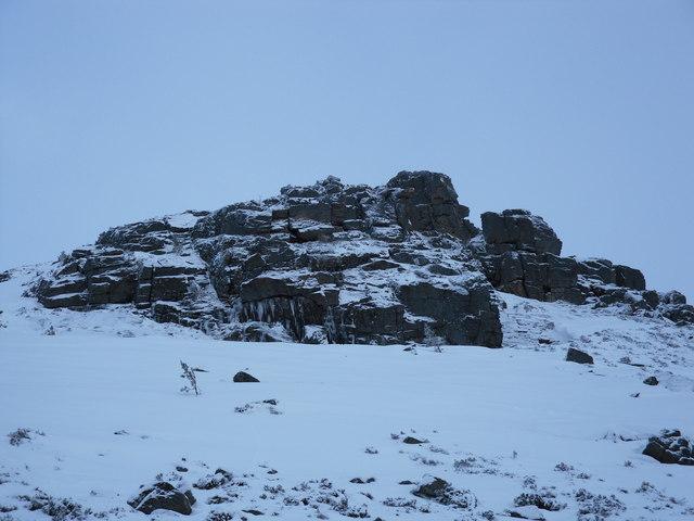 Creagan Dubh Crags