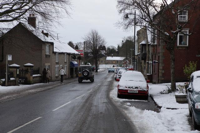 Piercy End Kirkbymoorside looking South