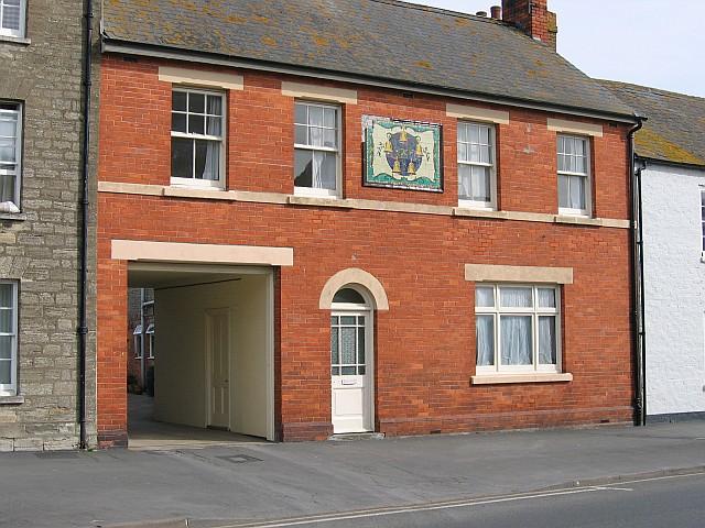 "Former ""Five Bells"" inn, Bridport, Dorset"