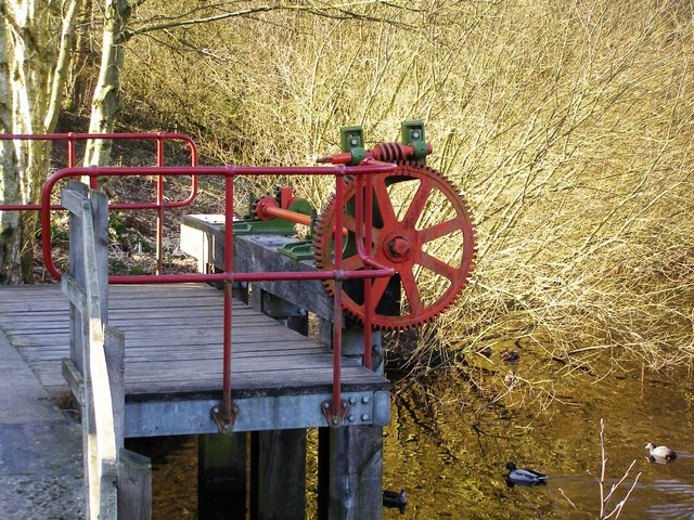 Sluice gate control, Etherow Country Park