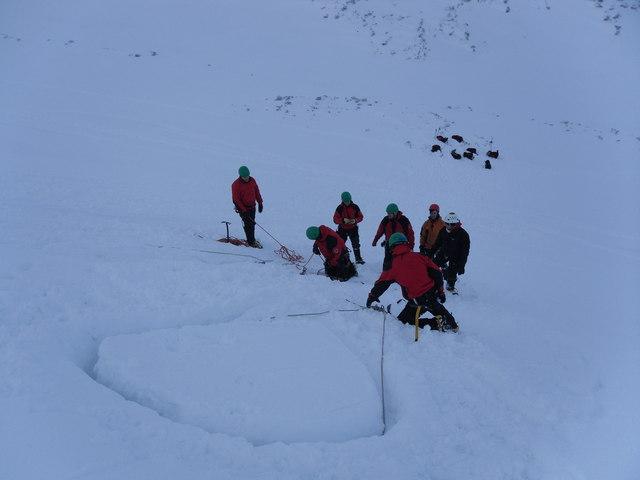 Winter Skills, Coire na Ciste