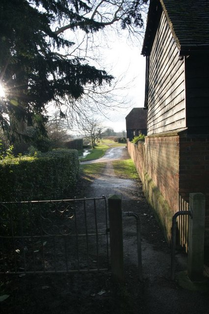 Footpath to West Hagbourne