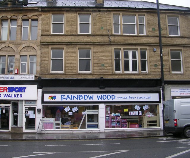 Rainbow Wood - Cavendish Street