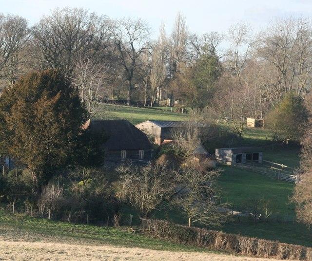 Farm buildings, Grove Farm