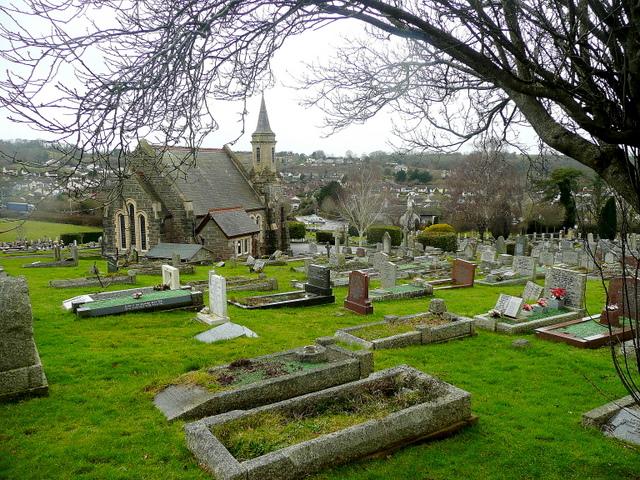 Newton Abbot cemetery chapel