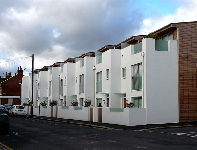 New houses, Hove