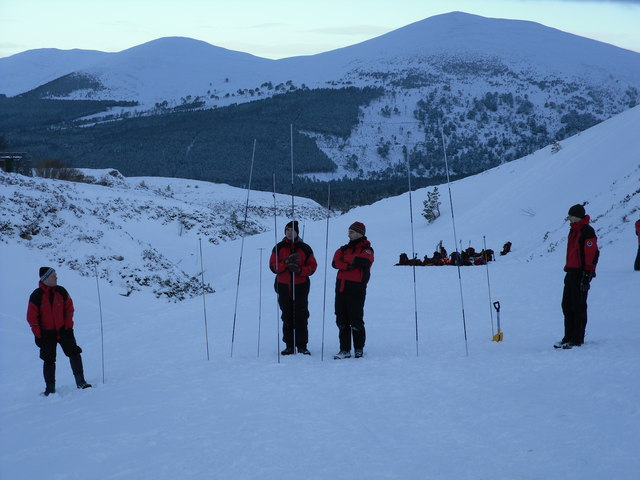 Avalanche Probing, Allt na Ciste