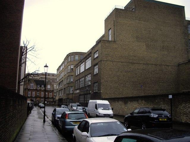 Peter Jones warehouse in Denyer Street London