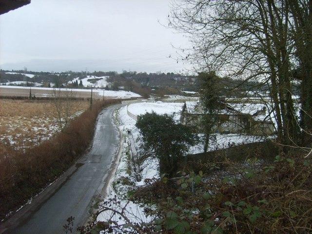 Snowy Penstone Lane