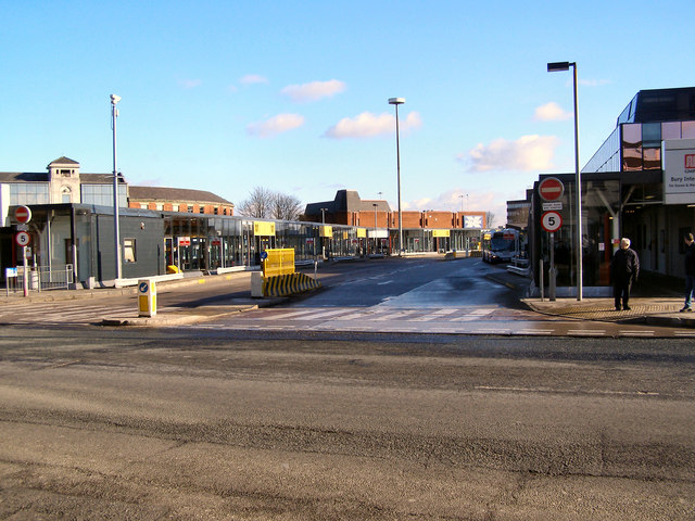 Bury Interchange, Haymarket Street