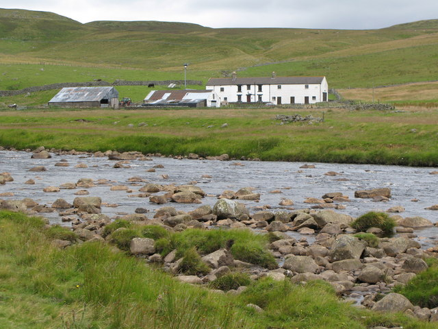 The River Tees, Widdy Bank Farm and Widdybank Fell