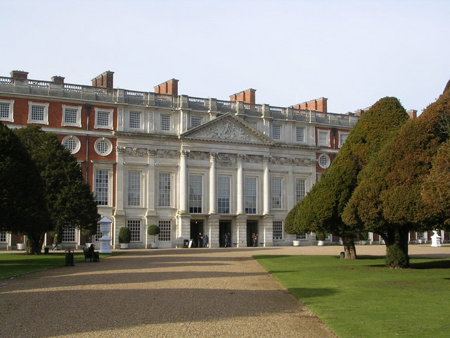 Hampton Court Palace East Facade