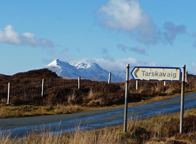 The Tarskavaig junction
